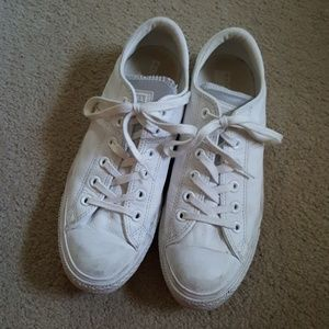 Leather CONVERSE ALL STAR Sneakers 9.5/7.5